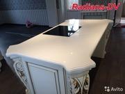 Столешницы из искусственного камня для кухонь от компании Радианс