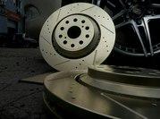 Изготовление перфорированных тормозных дисков