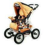 Продам коляску-трансформер TAKO Fast Rider,  цвет: бирюза